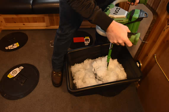 Ice Fishing Slush Bucket